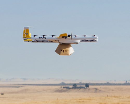 Image of google wing drone