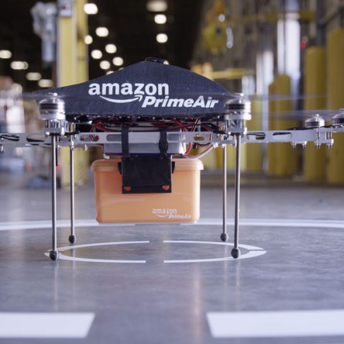 image of amazon prime air drone